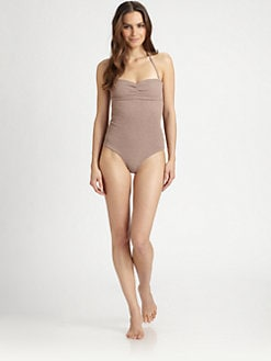 Tori Praver Swim - One-Piece Lucy Strapless Swimsuit