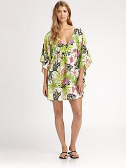 Nanette Lepore - Waikiki Reef Kimono Tunic