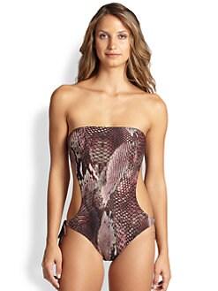 Melissa Odabash - Amalfi Cutout One-Piece Swimsuit
