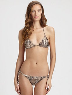 Cia.Maritima Swim - Python Bikini Top