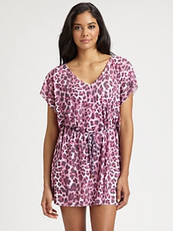 Cia.Maritima Swim - Animal-Print Caftan