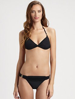 Cia.Maritima Swim - Twisted Halter Bikini Top