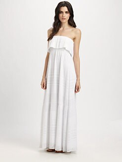 Melissa Odabash - Crochet Strapless Maxi Dress