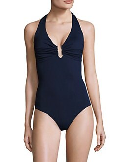 Melissa Odabash - One-Piece Cutout Swimsuit