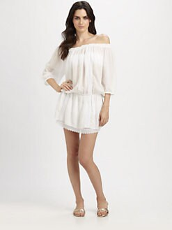 Melissa Odabash - Off-Shoulder Short Dress