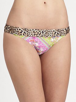 Cia.Maritima Swim - Animal-Paisley Printed Bikini Bottom