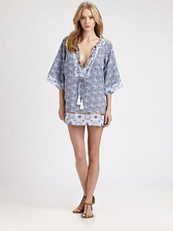 Onda De Mar Swim - Cotton Cassia Tunic