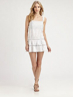 Onda De Mar Swim - Cotton Eyelet Dress