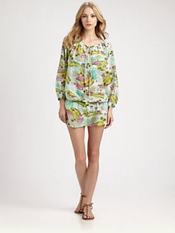 Onda De Mar Swim - Cotton/Silk Goa Tunic