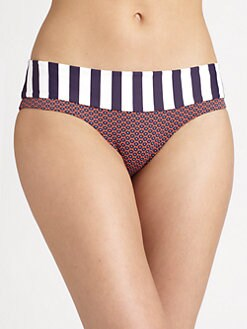 Onda De Mar Swim - Cayenne Low-Rise Bikini Bottom