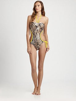 Cia.Maritima Swim - One-Piece Python Swimsuit