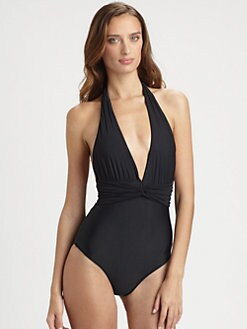 Cia.Maritima Swim - One-Piece Halter Swimsuit