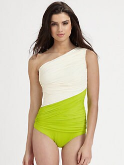Clube Bossa - One-Piece Colorblock Couture Swimsuit