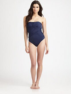 Clube Bossa - One-Piece Strapless Couture Swimsuit