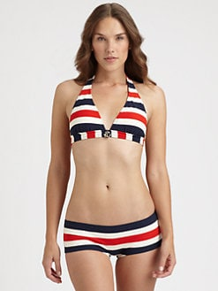 Juicy Couture - Port Stripe Bikini Top