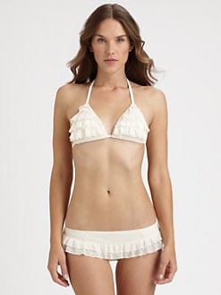 Juicy Couture - Prima Donna Ruffle Bikini Top