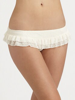 Juicy Couture - Prima Donna Ruffle Bikini Bottom