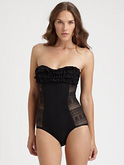 Juicy Couture - One-Piece Prima Donna Swimsuit