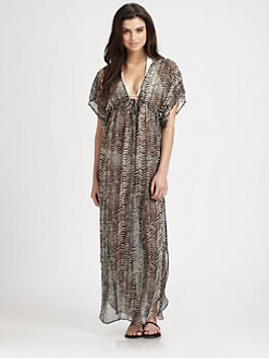 JOSA Tulum - Chiffon Maxi Dress