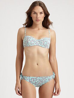 Marc by Marc Jacobs - Jamie Denim Underwire Bikini Top