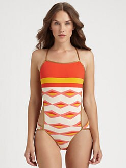 Marc by Marc Jacobs - One-Piece Hayley Stripe Swimsuit