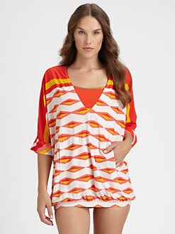 Marc by Marc Jacobs - Hayley Stripe Coverup