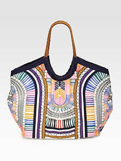 Mara Hoffman - Electric Casino Tote Bag