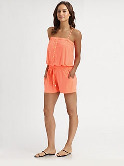 Shoshanna - Jersey Short Jumper