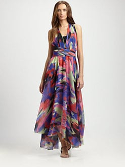 Uintah - Helena Halter Maxi Dress