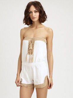 Anna Kosturova Swim - Helena Short Jumpsuit