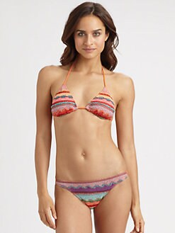 Cecilia Prado - Elly Knitted Triangle Bikini Top