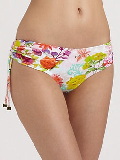 Onda De Mar Swim - Damasco Floral Bikini Bottom