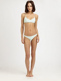 MIKOH SWIMWEAR - One-Piece Xavier Crochet-Back Swimsuit