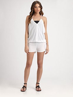 MIKOH SWIMWEAR - Jaws Short Jumpsuit