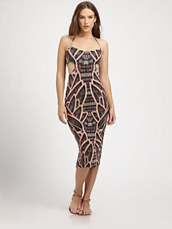 Mara Hoffman - Tie-Back Cutout Dress