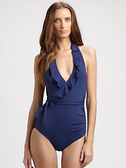 Kushcush Swim - One-Piece Lauren Ruffle Swimsuit