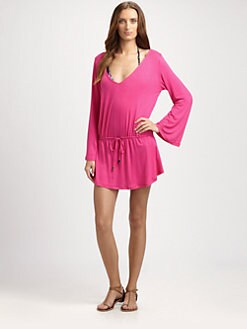 Kushcush Swim - Bungalow Drawstring Tunic