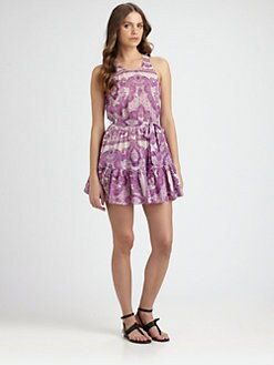 Zimmermann - Collision Frill-Lace Dress