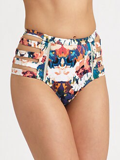 6 Shore Road - Chloe High-Waist Bikini Bottom