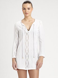 Cia.Maritima Swim - Open-Work Swim Coverup