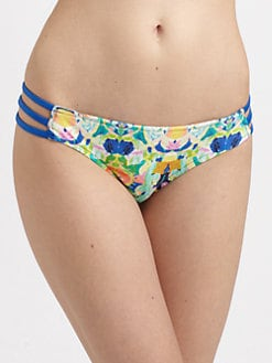 Milly - Kaleidoscope Print Lanai Bikini Bottom