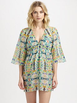 Milly - Kaleidoscope Print Palmas Coverup