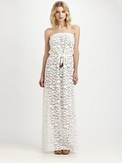 Milly - Crocheted Maxi Coverup