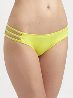 Milly - Solid Shimmer Lanai Bikini Bottom
