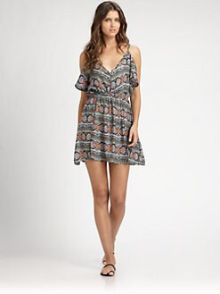 L*Space - City Tribe Cold-Shoulder Dress
