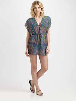 Milly - Sea Blossom-Print Dress