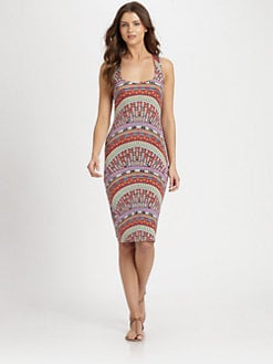 Mara Hoffman - Rainbow Fitted Dress