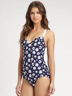 Pret-A-Surf - One-Piece Floral Swimsuit