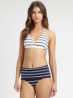 Pret-A-Surf - Two-Piece Striped Swimsuit