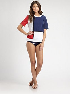 Pret-A-Surf - Mondrian Back-Zip Sweatshirt